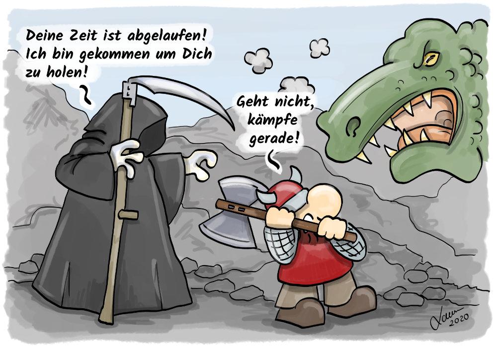 Cartoon - Tod