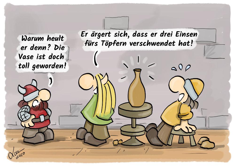 Cartoon Meisterlich