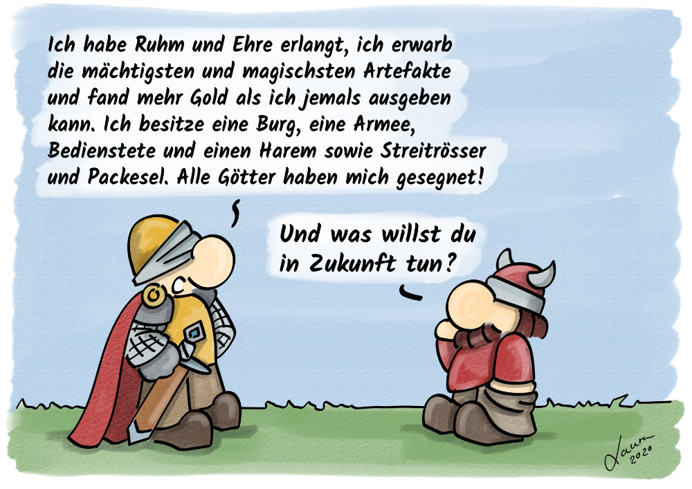 Cartoon Ziele