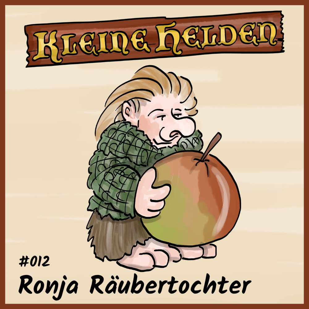 Podcast Cover - Ronja Räubertochter