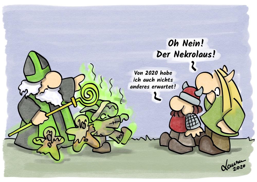 Cartoon: Nekrolaus