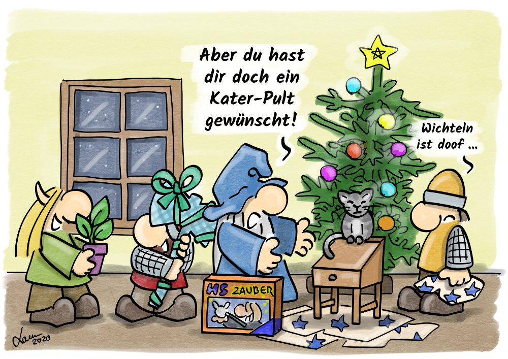 Cartoon: Geschenke