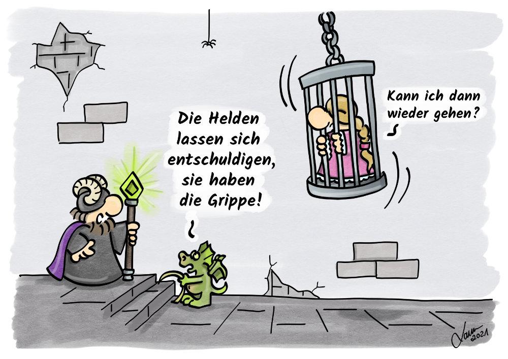 Cartoon-Krankheiten