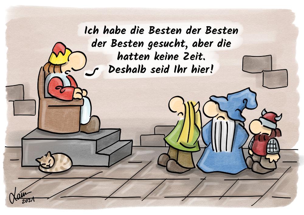 Cartoon: Die Besten