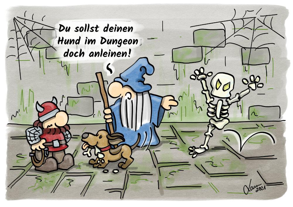 Cartoon: Tiere
