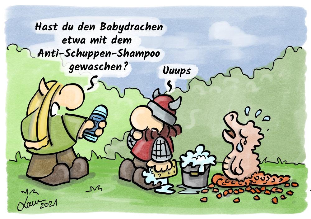 Cartoon-Hygiene