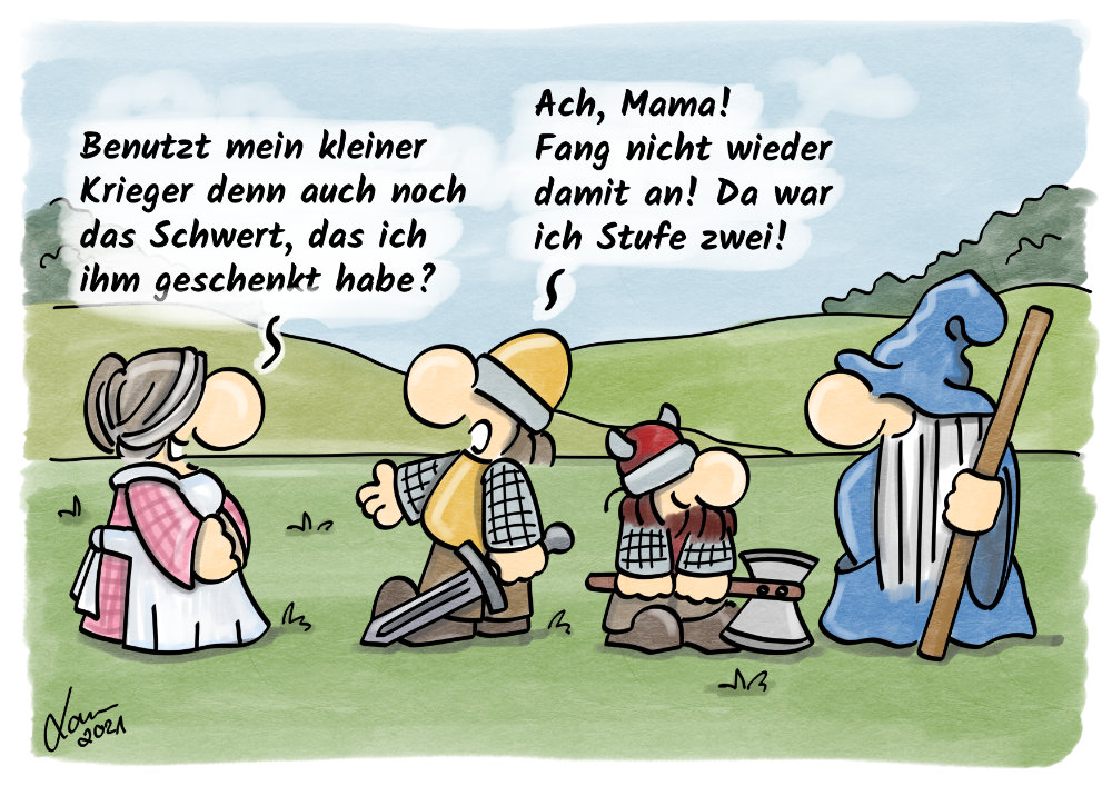 Cartoon - Mütter