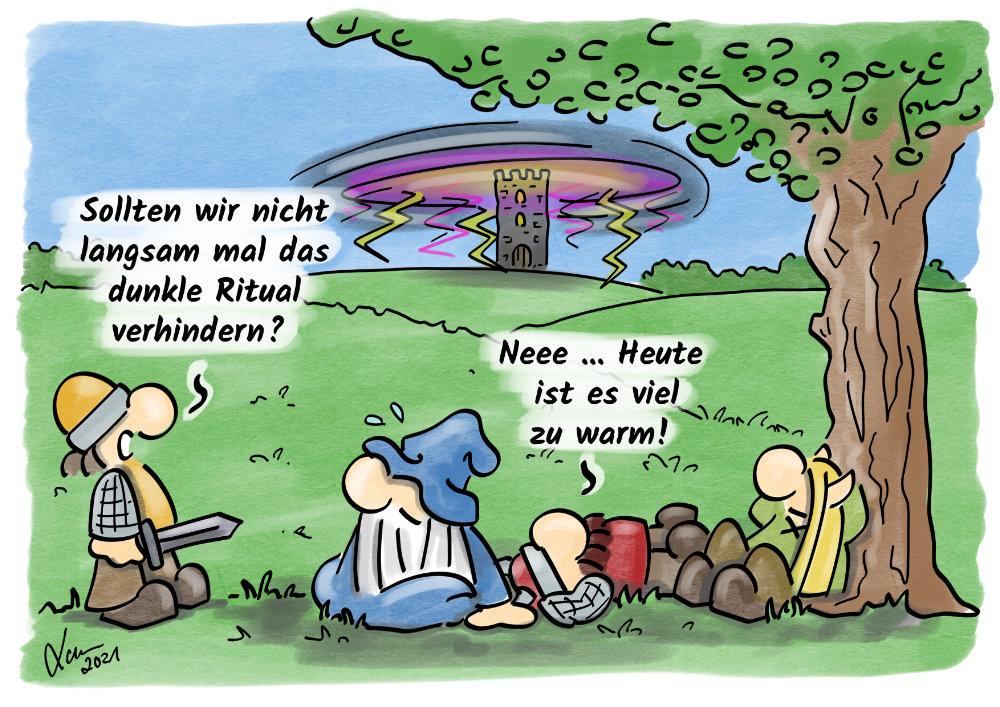 Cartoon: Hitze