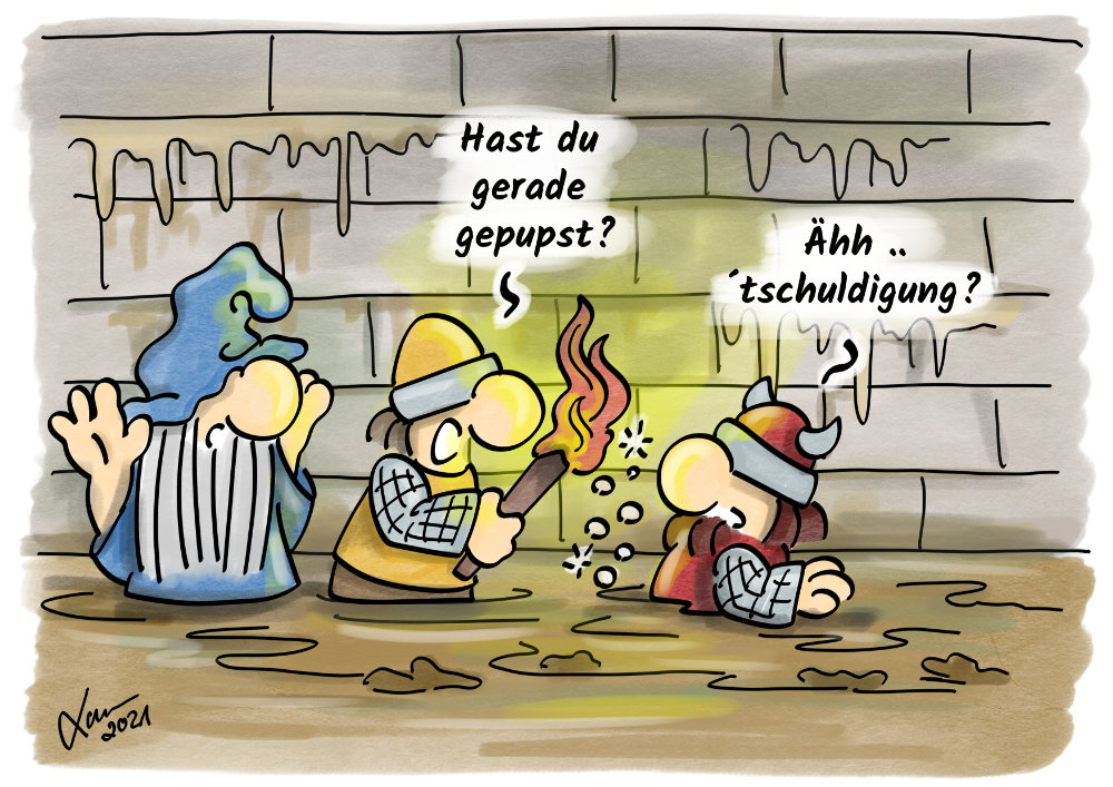 Cartoon - Ekel