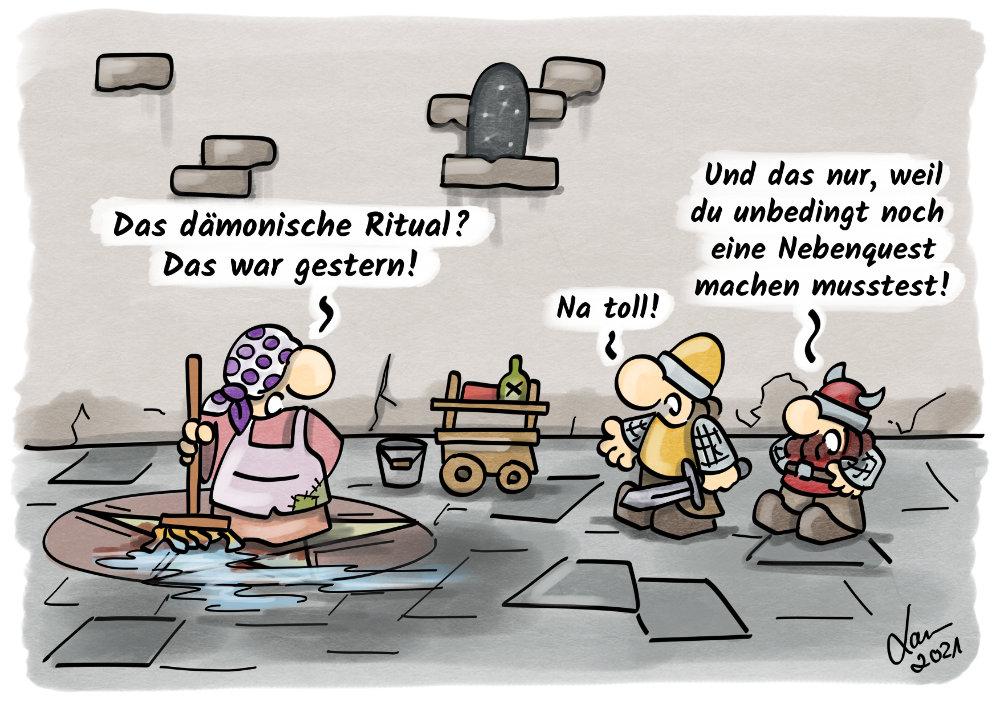 Cartoon Zeit