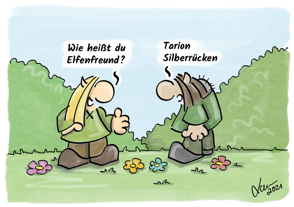 Cartoon - Elfennamen