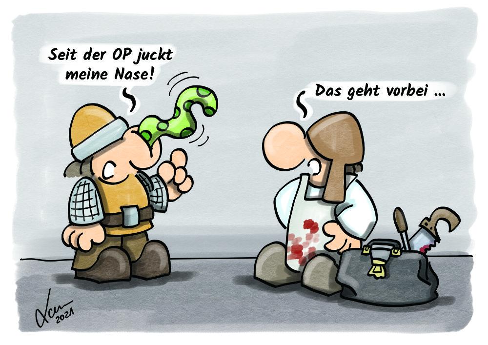 Cartoon - Heiler